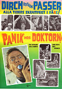 Panik hos doktorn 1968 Movie poster Dirch Passer