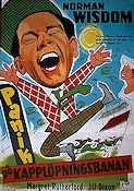 Just My Luck 1958 poster Norman Wisdom