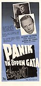 Panic in the Streets 1950 Movie poster Richard Widmark Elia Kazan