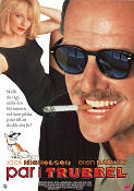 Man Trouble 1992 Movie poster Jack Nicholson Bob Rafaelson