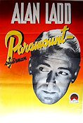 Paramount Alan Ladd 1950 Movie poster Alan Ladd