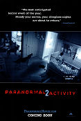 Paranormal Activity 2 2010 poster Katie Featherston Tod Williams