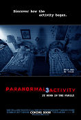 Paranormal Activity 3 2011 poster Katie Featherston Henry Joost