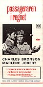 Le Passager de la pluie 1970 Movie poster Charles Bronson