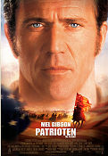 The Patriot 2000 poster Mel Gibson