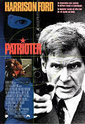 Patriot Games 1992 Movie poster Harrison Ford