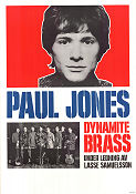 Paul Jones 1968 affisch Dynamite Brass