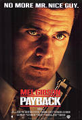 Payback 1999 Movie poster Mel Gibson Brian Helgeland