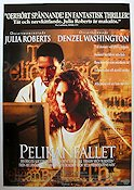 The Pelican Brief 1993 poster Julia Roberts