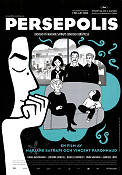 Persepolis 2007 Movie poster Vincent Paronnaud