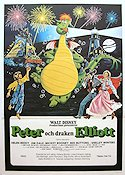 Pete's Dragon 1978 Movie poster Helen Reddy