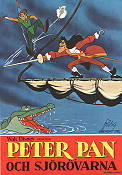 Peter Pan och sj�r�varna 1953 Movie poster