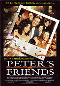 Peter´s Friends 1992 poster Stephen Fry Kenneth Branagh