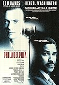 Philadelphia 1993 Jonathan Demme Tom Hanks Denzel Washington Antonio Banderas