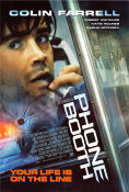 Phone Booth 2003 Movie poster Colin Farrell
