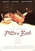 The Pillow Book 1995 Movie poster Vivian Wu Peter Greenaway