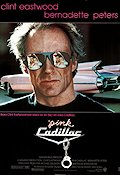 Pink Cadillac 1989 Movie poster Clint Eastwood