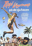 Pippi in the South Seas 1970 poster Inger Nilsson