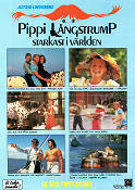 The New Adventures of Pippi Longstocking 1988 poster Ken Annakin