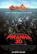 Piranha 3D 2010 Movie poster Elisabeth Shue
