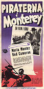 Pirates of Monterey 1947 poster Maria Montez