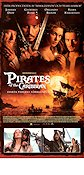 Pirates of the Caribbean 2003 Movie poster Johnny Depp