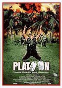 Platoon 1986 Movie poster Tom Berenger Oliver Stone