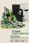Point Blank 1968 Movie poster Lee Marvin John Boorman