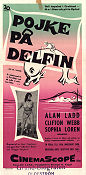 Boy on a Dolphin 1957 poster Alan Ladd Jean Negulesco