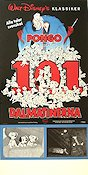 101 Dalmatians 1961 Movie poster