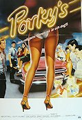 Porky's 1982 Movie poster Kim Cattrall Bob Clark