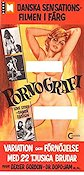Pornografi 1971 Movie poster Ole Ege