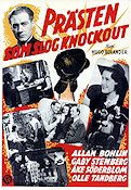 Pr�sten som slog knock-out 1943 Movie poster �ke S�derblom