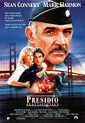 The Presidio 1988 Movie poster Sean Connery