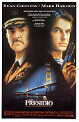 The Presidio 1988 poster Sean Connery Peter Hyams
