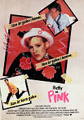 Pretty in Pink 1986 poster Molly Ringwald