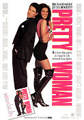 Pretty Woman 1990 Movie poster Richard Gere Garry Marshall