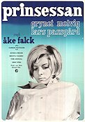 Prinsessan 1966 Movie poster Grynet Molvig �ke Falck