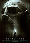 Prometheus 2012 Movie poster Noomi Rapace Ridley Scott
