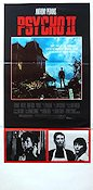 Psycho 2 1982 Movie poster Anthony Perkins