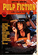 Pulp Fiction 1994 Movie poster John Travolta Quentin Tarantino
