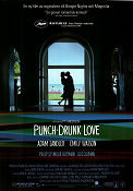 Punch-Drunk Love 2002 Movie poster Adam Sandler Paul Thomas Anderson