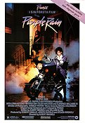 Purple Rain 1984 Movie poster Prince Albert Magnoli