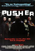 Pusher 1996 Movie poster Mads Mikkelsen Nicolas Winding Refn