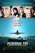Pushing Tin 1999 poster John Cusack Mike Newell
