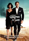 Quantum of Solace 2008 Movie poster Daniel Craig
