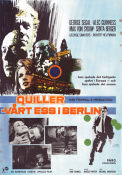 The Quiller Memorandum 1967 poster George Segal