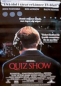 Quiz Show 1995 Movie poster John Turturro