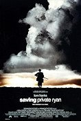 Saving Private Ryan 1998 Movie poster Tom Hanks Steven Spielberg