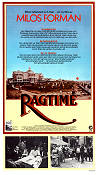 Ragtime 1982 Movie poster James Cagney Milos Forman